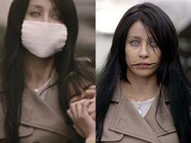 Kuchisake-Onna the slit-mouth woman