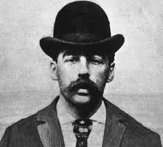 "H.H. Holmes was the alias of one of America's first serial killers. During the 1893 Columbian Exposition, he lured victims into his elaborate ""murder castle."""